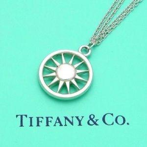 Tiffany & Co Silver Sun Pendant